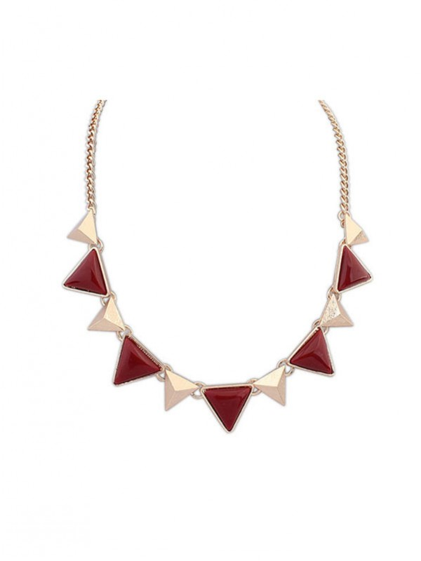 Occident Retro Punk Geometry Triangle Hot Sale Necklace