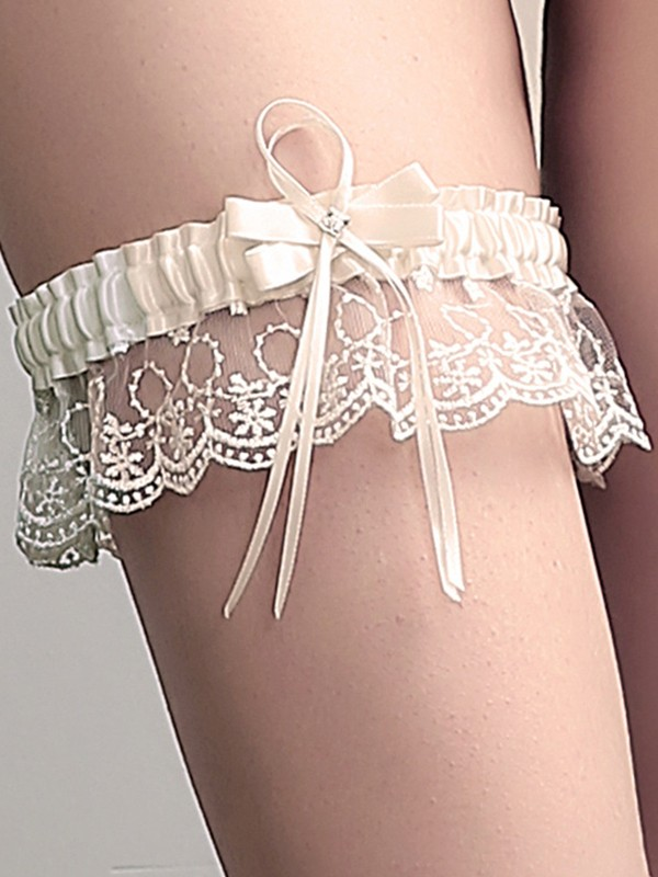 Sweet Bridal/Feminine Cloth With Lace/Bowknot Garters