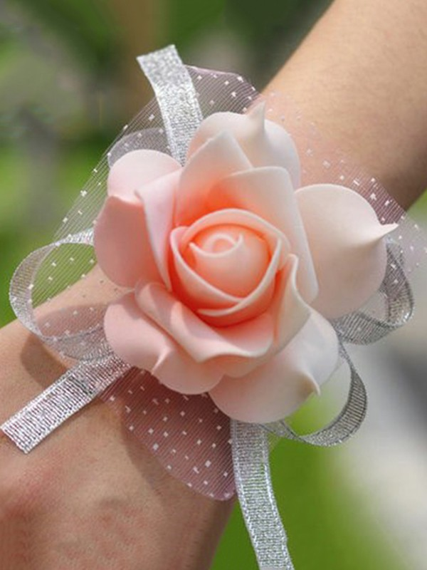 Simple Silk Wrist Corsage