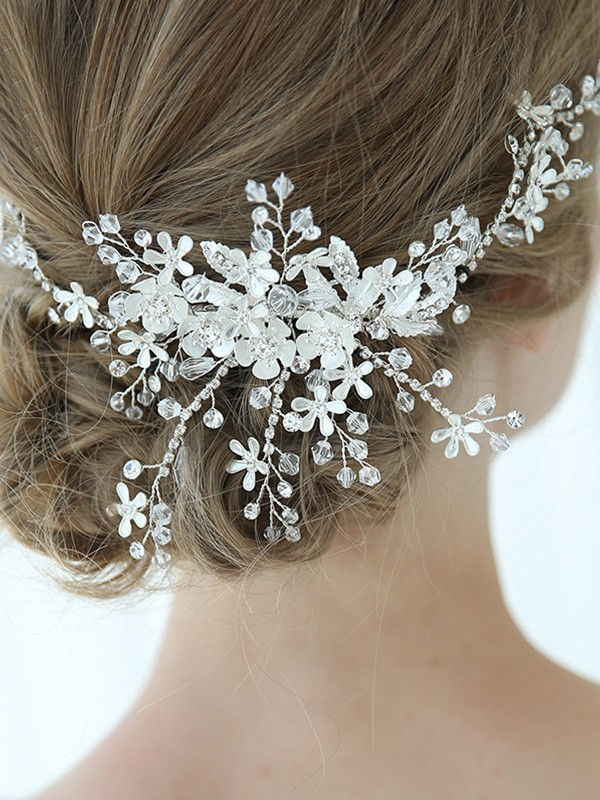 Beautiful Alloy With Flower Headpieces