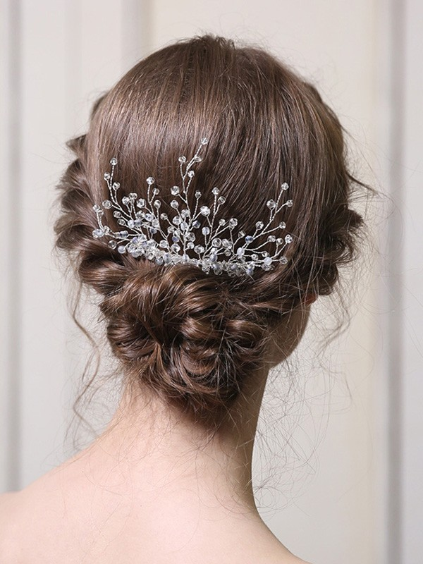 Fashion With Crystal Alloy Headpieces