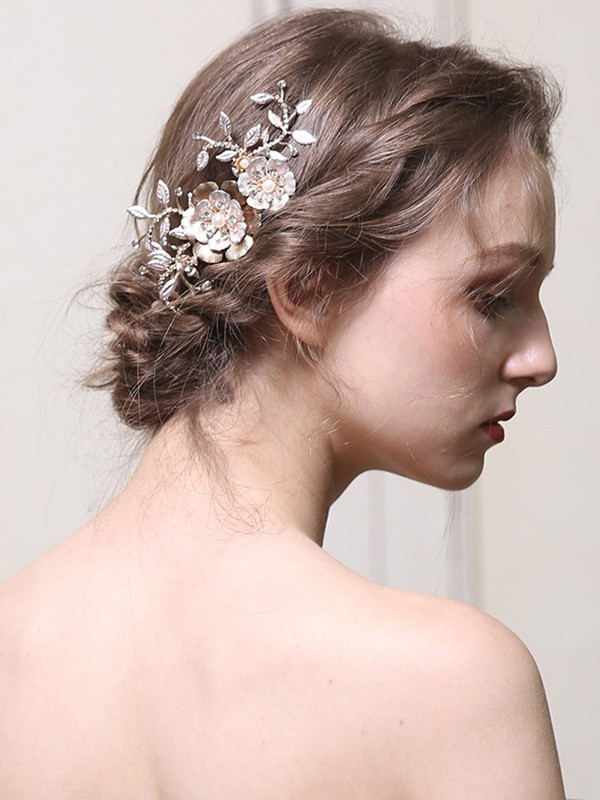 Noble With Pearl Alloy Headpieces