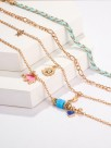 Charming Elephant Alloy Anklets(4 Pieces)
